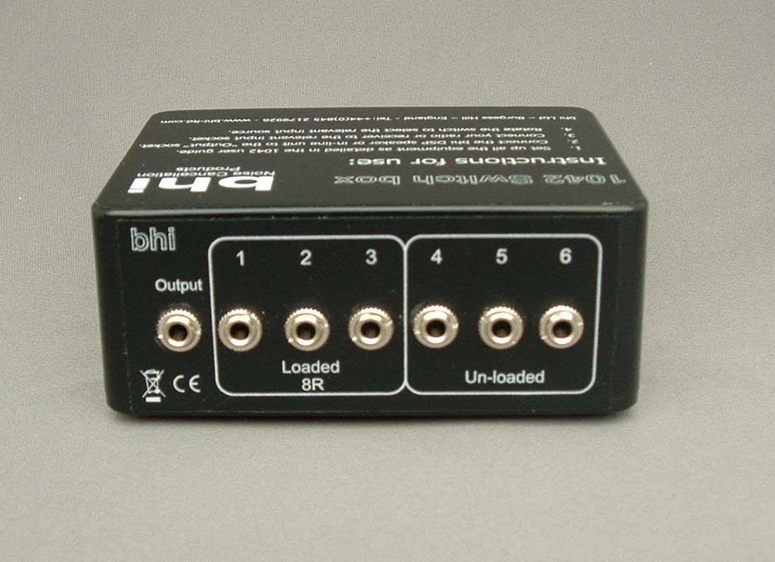 BHI A-Mini Switch 2 way Mini Switch Box